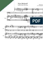 Njet Molotoff Accordion + Piano