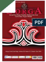 Cover_Gorga Jurnal Seni Rupa_Vol. 8, No. 1, 2019