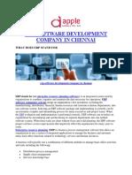 ERP Software Development Company in chennai | Apple Infoway Pvt Ltd