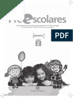 Preescolares 2 Alumno - Muestra