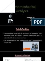 Thermomechanical Analysis (TMA)