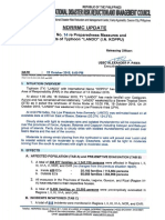 AAA Sitrep No 14 Re Preparedness Measures and Effects of Typhoon LANDO 22OCT2015 1800H