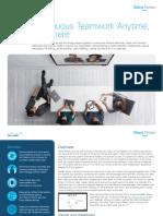 Cisco Webex Teams Solution Overview