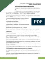 02 Normas Basicas de Segurança Em Laboratorios Quimicos e Microbiologicos