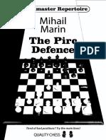Mihail Marin Grandmaster Repertoire the Pirc Defence