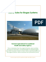 Safety Rules for Biogas Systems 2008