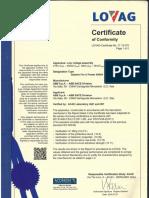 Certificate Lovag Acae IT 15.070 System Pro E Power LS 4000A 36KA_d46a1f5e3d39c52c96792377ec2f1392