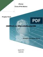 OSPFv3 No Mikrotik RouterOS