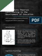 EDUC 203 - 20th Century Theories