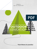 Outdoor Education From Theory to Practice