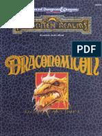 Les Royaumes Oubliés - Add2 -Draconomicon