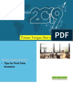 Tomas Vargas Harvard | Tips for First-Time Investors |Pdf