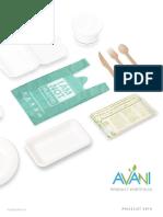 Avani Catalogue-pricelist 2019