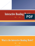 Interactive Reading Model - What Teachers Should Know