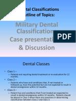 Dental Classifications 2