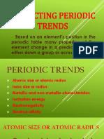 Periodic Trends