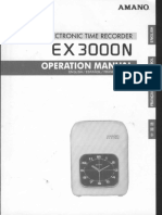 AmanoEX3000N