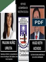 Paulina Nueñez y Seremi de Educacion
