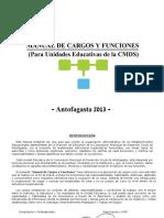 Manual de Cargos y Funcioness Cmds 2013
