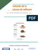 Evolución de La Arquitecturas de Software