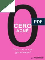Preview of Cero Acne Como Cure Mi Acne Para Siempre Jason Wilkins