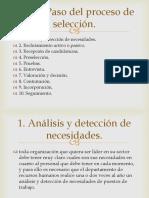 Exposicion Paso a Paso Del Proceso de Selección