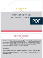 Chapter-4 - Fraud and Passing Off