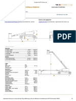 HaulotteH25TPXBoom Lift Specification