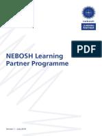 NEBOSH Learning Partner Programme