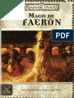 Les Royaumes Oubliés - Dd3 - Magie de Faerun