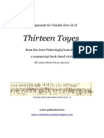 Pickeringe Thirteen Toyes Book