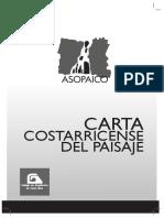 Carta Costarricense Del Paisaje
