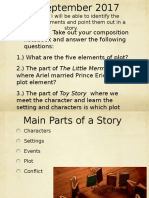 3 Narrative Elements PPT