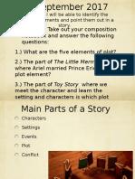 3 Narrative Elements PPT
