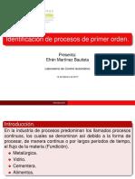 Presentacion; sistemas de Primer Orden