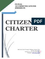 NTC Citizens Charter
