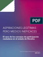 Morelos Rinde Cuentas, Consejos de Participacion Ciudadana 20abr18