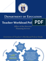 DepEd Teachers Workload Policy Study