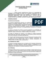 ESPECIFICACIONES TÉCNICAS_ESTRUCTURAS