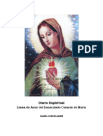 Isabel Kindelman Diario Espiritual Llama de Amor Del Inmaculado Corazc3b3n de Marc3ada 1961 19818