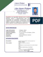 José Jairo Aparicio Rodríguez 2019