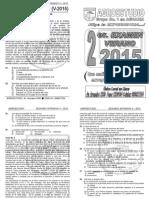 2da Práctica Calificada - Agroestudio Intensivo 2015
