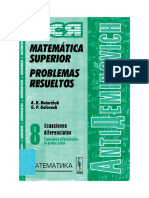 Ecuaciones Diferenciales - Tomo 8 [Antidemidóvich].pdf