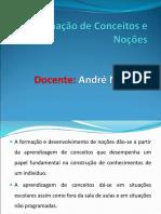 Formaçao de Conceitos e Nocoes