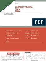 Fármaco Basica y Clinica - Fk y Fd