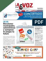 La Voz de La A6 n189. Mayo 2019