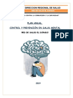 Plan Anual Salud Mental 2019