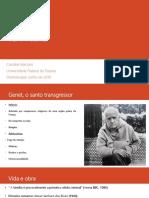 As Criadas- Jean Genet-Dramaturgia