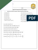 Guía álgebra N°2. Reducción de términos semejantes.