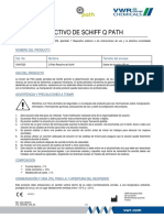 Reactivo de Schiff Q Path MSDS